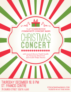 2014-12 Christmas Concert Poster