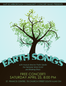 2015-04 Earth Songs Poster